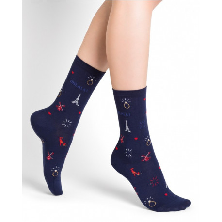 CHAUSSETTES DAME PARIS BY NIGHT 36/42